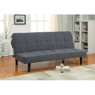 Lyndhurst Tufted Convertible Sofa Upholstery: Gray