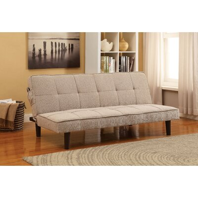 Lyndhurst Tufted Convertible Sofa Upholstery: Beige