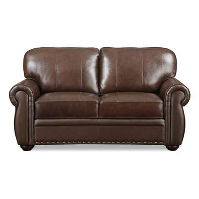 Laurie Leather Loveseat