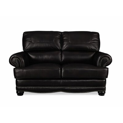 Pomeroy Leather Loveseat