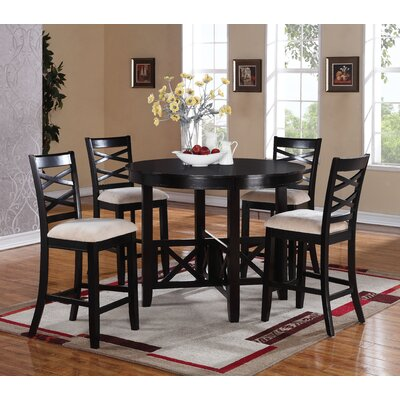 Levay 5 Piece Counter Height Dining Set