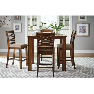 Oakley 5 Piece Counter Height Dining Set