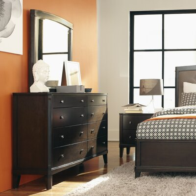 Atwater 8 Drawer Dresser with Mirror