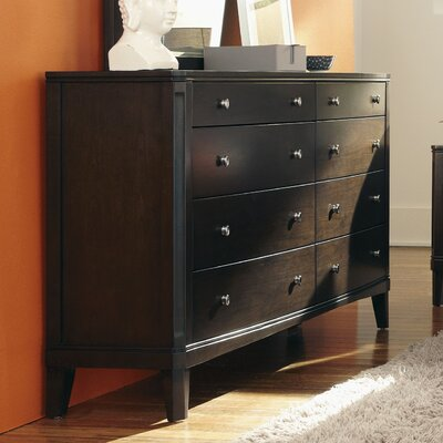 Black Cloister 8 Drawer Dresser