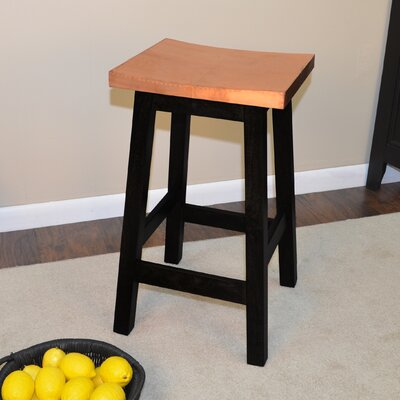 Birdsall 23.75 inch Bar Stool Finish: Black