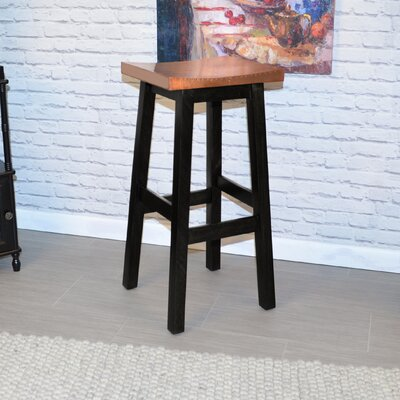 Birdsall 30 Bar Stool Finish: Black