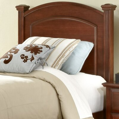 High Meadow Panel Headboard Size: King, Color: Merlot