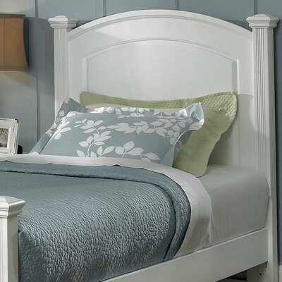 Cedar Drive Panel Headboard Finish: Snow White, Size: Twin