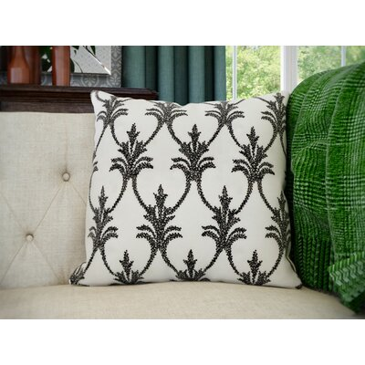 Hutcherson Throw Pillow Color: Black