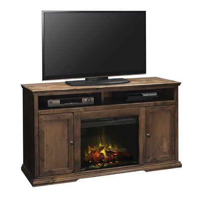 Normandy Lane 59 TV Stand with Fireplace