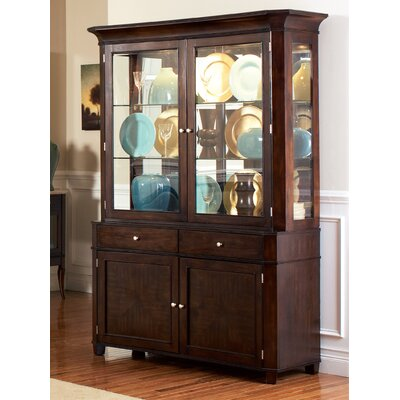 Swenson China Cabinet Hutch