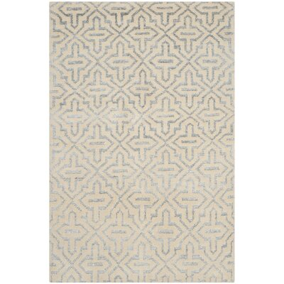 Mailus Silver Rug Rug Size: 5 x 8