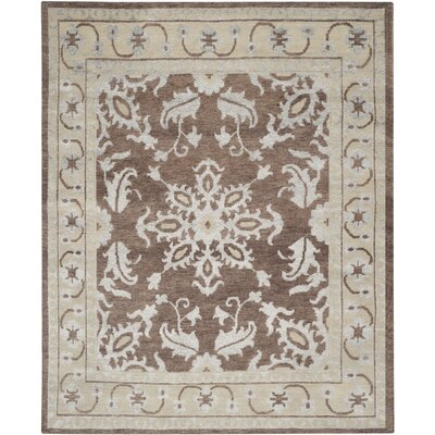 Mailus Charcoal Rug Rug Size: 8 x 10