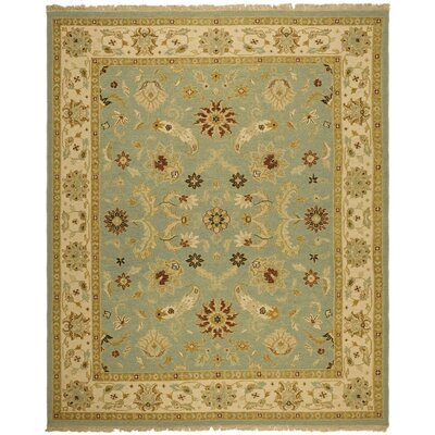 Linwood Light Blue/Beige Area Rug Rug Size: 4 x 6