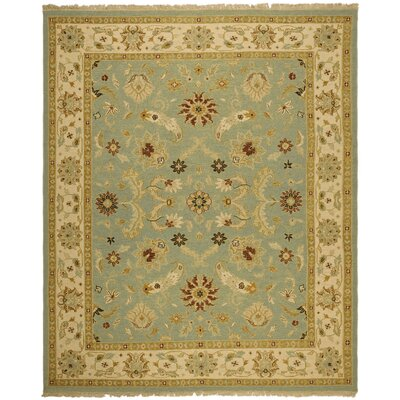 Linwood Light Blue/Beige Area Rug Rug Size: 10 x 14