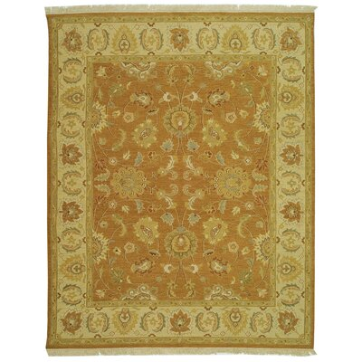 Linwood Gold/Ivory Area Rug Rug Size: Rectangle 4' x 6'