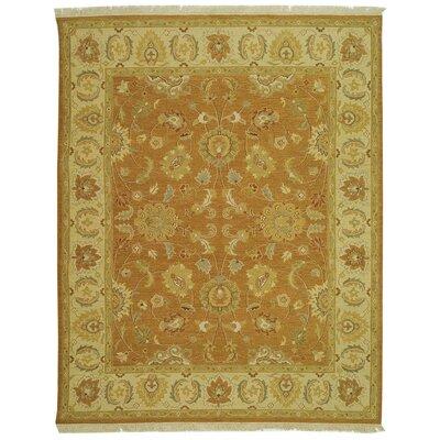 Linwood Gold/Ivory Area Rug Rug Size: 8 x 10