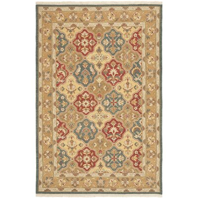 Linwood Hand-Woven Wool Area Rug Rug Size: Rectangle 6 x 9