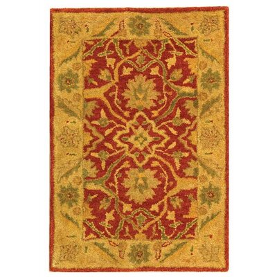 Parker Rust Area Rug Rug Size: Rectangle 4 x 6