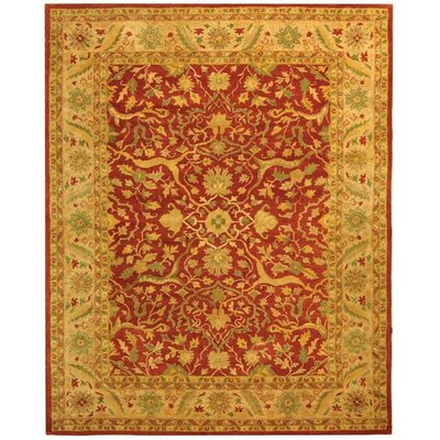Parker Rust Area Rug Rug Size: Rectangle 96 x 136
