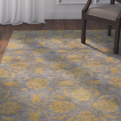 Irvington Hand-Tufted Grey Area Rug