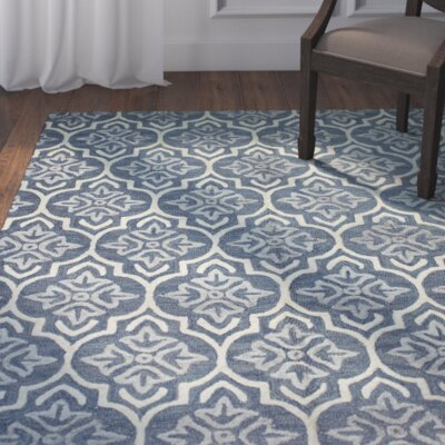 Bentley Hand-Tufted Light Blue Area Rug Rug Size: Runner 26 x 8