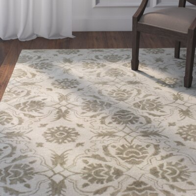 Crainville Hand-Tufted Ivory Area Rug