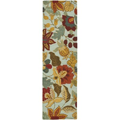 Payne Blue/Multi Area Rug Rug Size: Runner 23 x 10
