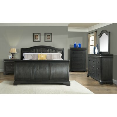Lochner 6 Drawer Chest with Mirror