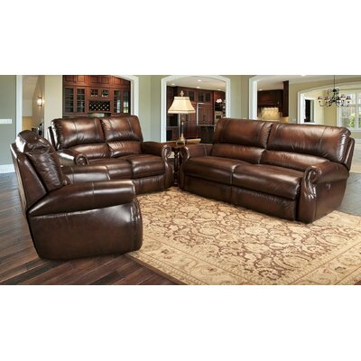 Darby Home Co DRBC6250 Hardcastle Leather Living Room Collection
