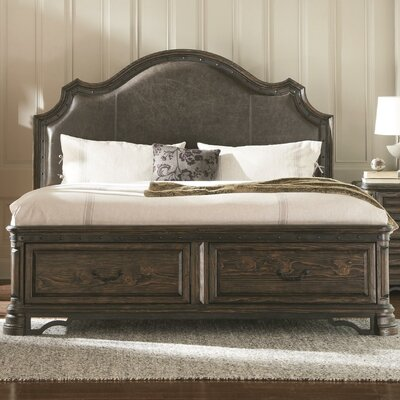 Monterrey Upholstered Storage Panel Bed Size: King