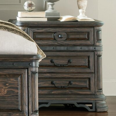 Monterrey 3 Drawer Nightstand