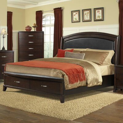 Mcduffie Upholstered Storage Platform Bed Size: King