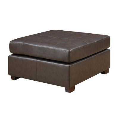 Caples Ottoman Upholstery: Brown