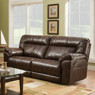 Simmons Upholstery Colwyn Motion Reclining Sofa Type: Power