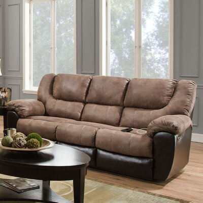 Simmons Upholstery Derosier Reclining Sofa Type: Manual