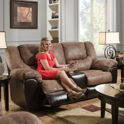Simmons Upholstery Derosier Motion Reclining Loveseat Type: Power