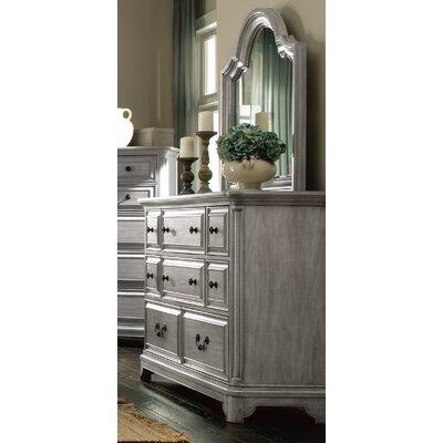Chelmscote 8 Drawer Dresser with Mirror