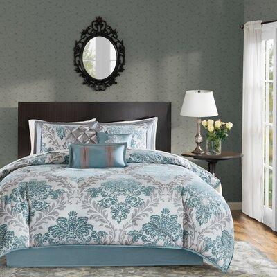 Lyndon 7 Piece Comforter Set Size: Queen