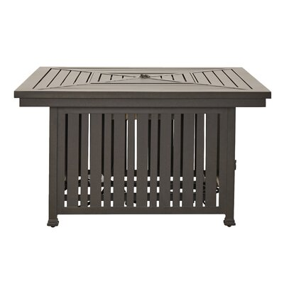 Brunelle Aluminium Propane Gas Fire Pit Table