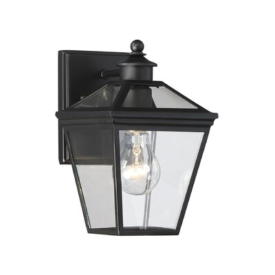 Coleg 1-Light Outdoor Wall Lantern