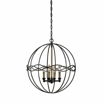 Moravia 4-Light Globe Pendant