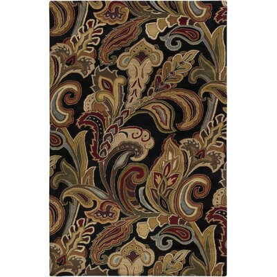 Donegal Brown Area Rug Rug Size: 8 x 11