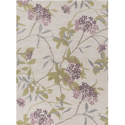 Bumgardner Hand-Tufted Beige Area Rug Rug Size: Rectangle 8' x 11'