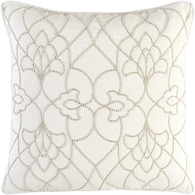 Christianson Linen Pillow Cover Size: 22 H x 22 W x 1 D, Color: Neutral