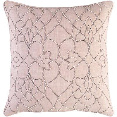 Christianson Linen Pillow Cover Size: 20 H x 20 W x 1 D, Color: Brown