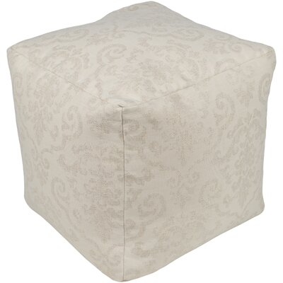 Douglassville Pouf Upholstery: Tan