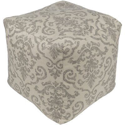Douglassville Pouf Upholstery: Taupe