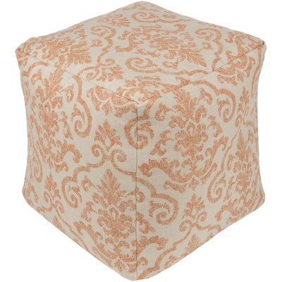 Douglassville Pouf Upholstery: Burnt Orange