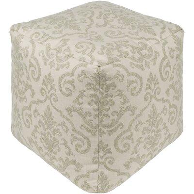 Douglassville Pouf Upholstery: Olive